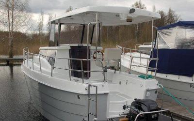 Ekologiczny Jacht Motorowy Laguna 700 Cruiser – Niedługo w ofercie