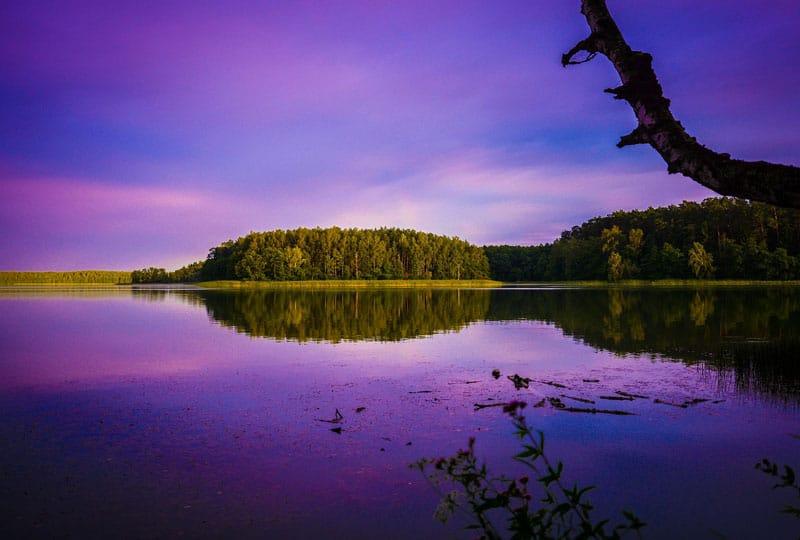 noclegi na mazurach, pokoje nad jeziorem